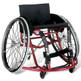 Cadeira de rodas pediatrica para basquete ASSIST2 | Mobilitec - Offcarr