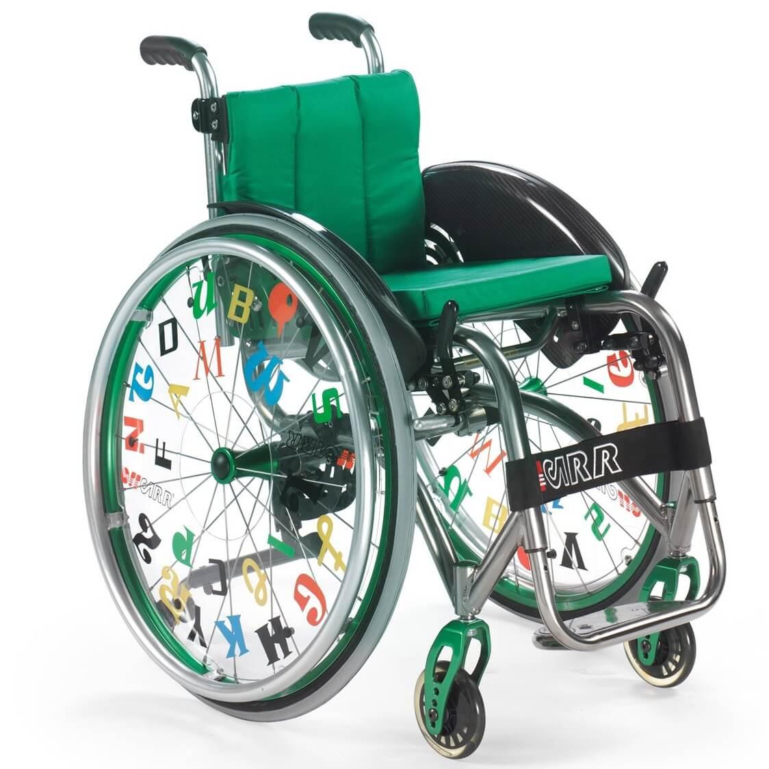 cadeira de rodas pediátrica QUASAR KID | Mobilitec - Offcarr