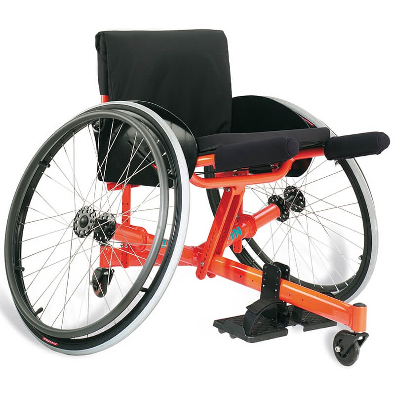 Cadeira de rodas para tenis TOP SPIN 1 | Mobilitec - Offcarr