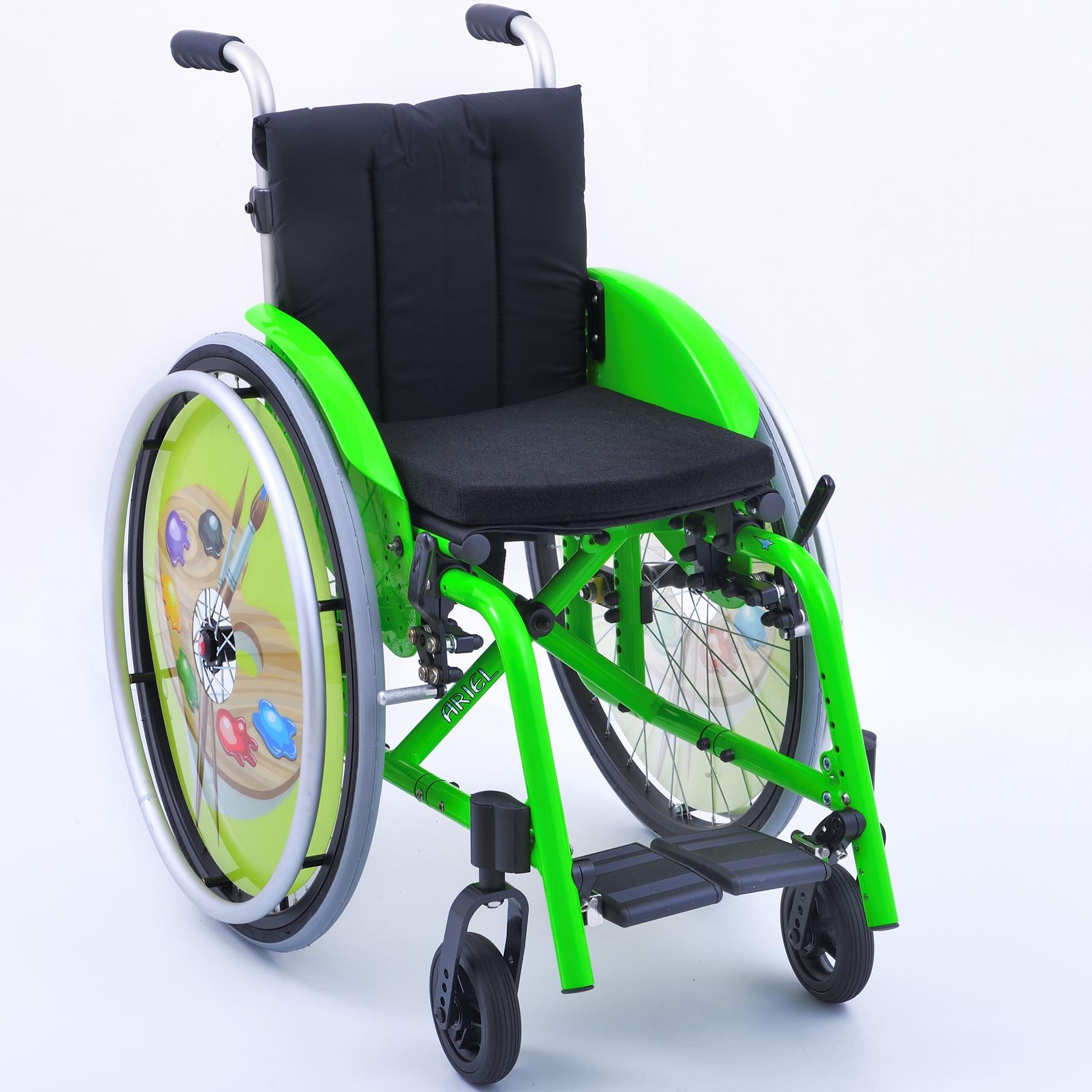 Cadeira de rodas pediátrica ARIEL | Mobilitec - Offcarr