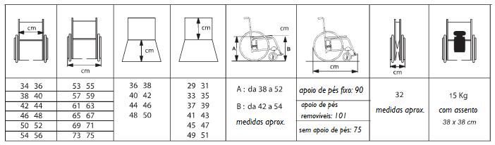 ALTHEA Medidas | Mobilitec - Offcarr