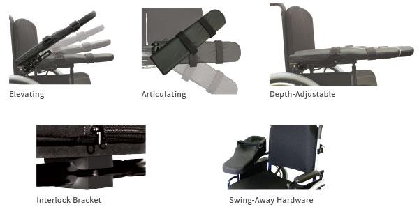 Comfort Arm Hardware