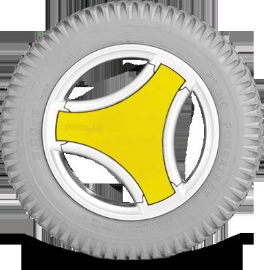 Extreme Yellow Permobil