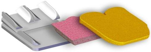 Almofada Peezy Light componentes | Mobilitec