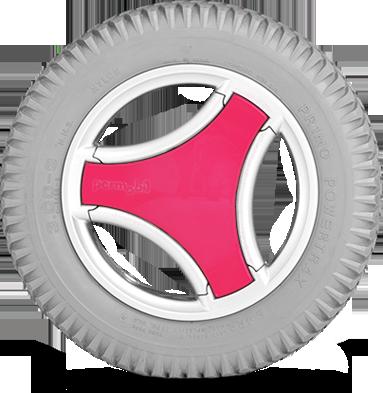 Popstar Pink Permobil