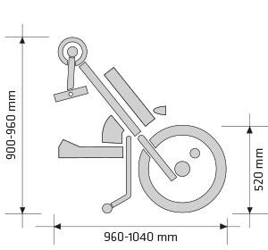 Handbike Batec Quad Hybrid | Mobilitec