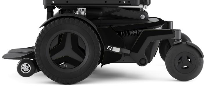 Permobil F3 MIDNIGHT | Mobilitec