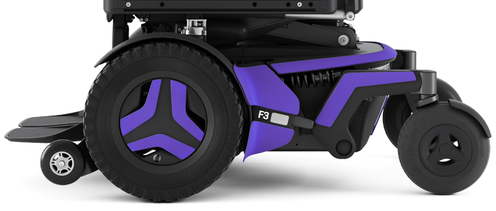 Permobil F3 VIOLET | Mobilitec