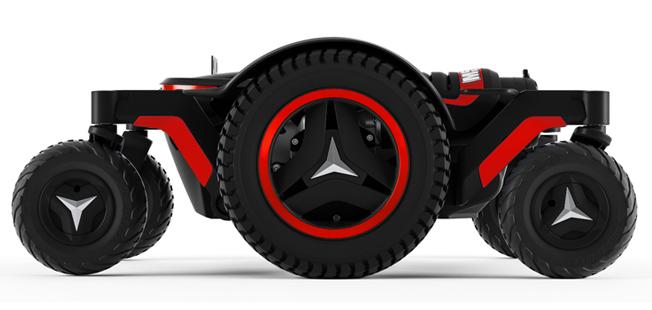 Permobil M5 RADIANT RED | Mobilitec