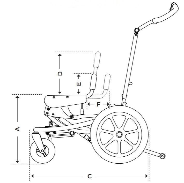 FLIPPER PRO FLEX Medidas Anatomic Sitt   Mobilitec