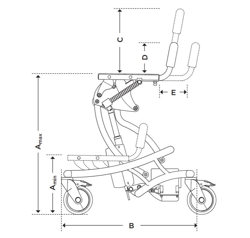 FLIPPER PRO Medidas Anatomic Sitt | Mobilitec