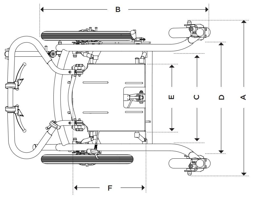 SEABASS PRO Medidas Anatomic Sitt | Mobilitec