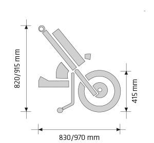 Handbike Batec Quad Mini | Mobilitec