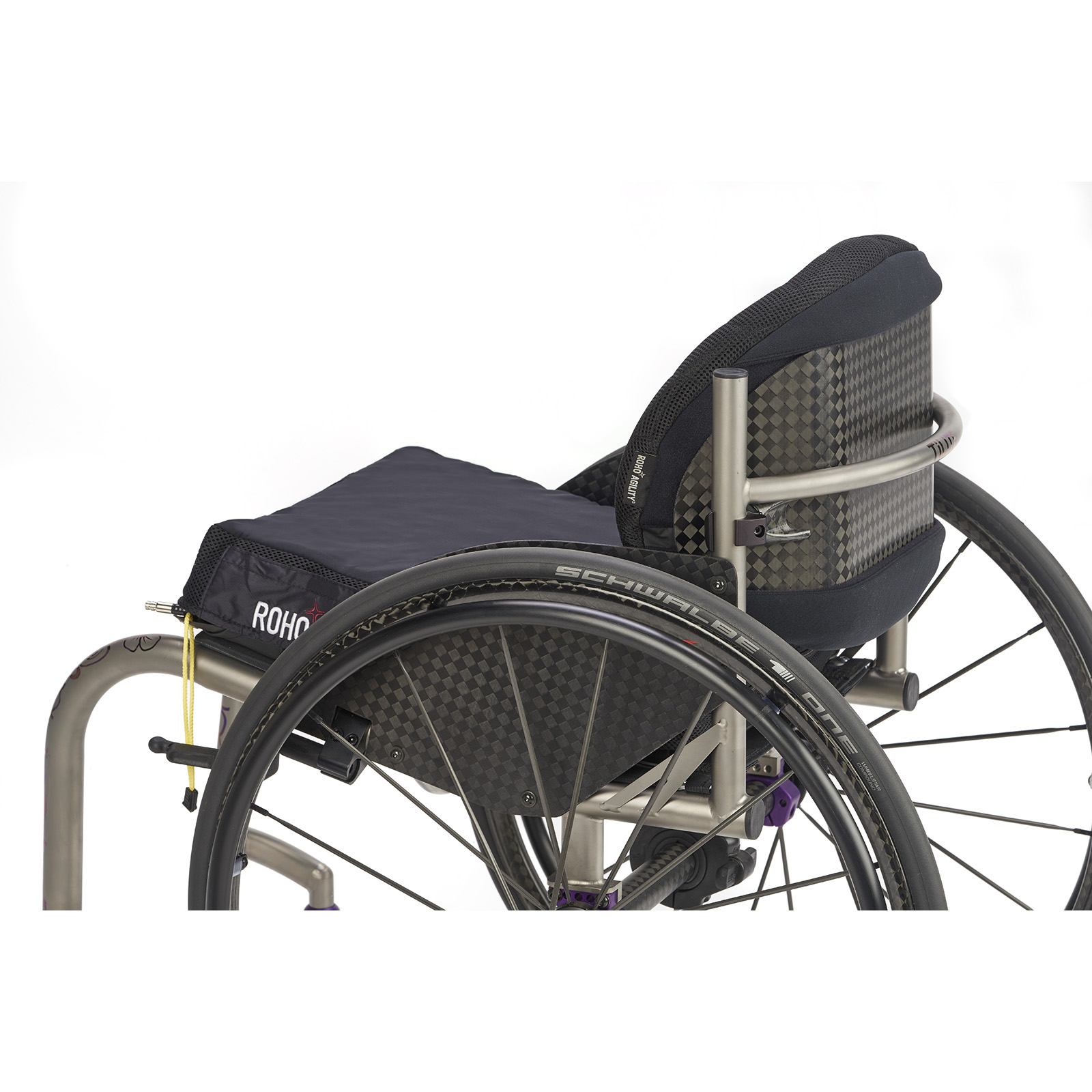 Agility Carbon ROHO Permobil Seating+Positioning | Mobilitec