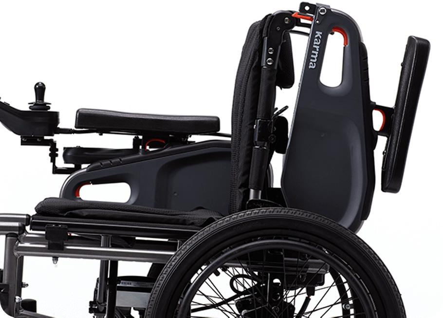 Cadeira de rodas eletrica dobravel eFlexx