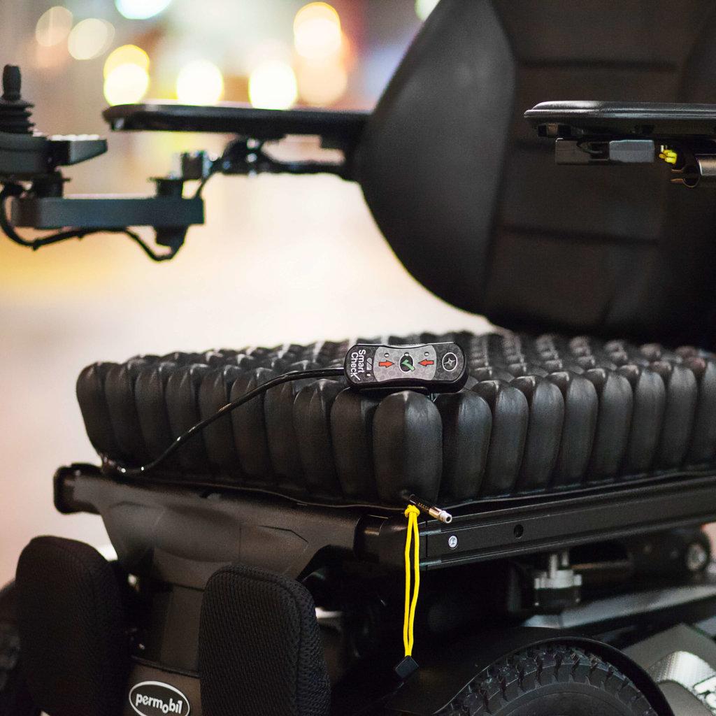 posicionamento para cadeira de rodas