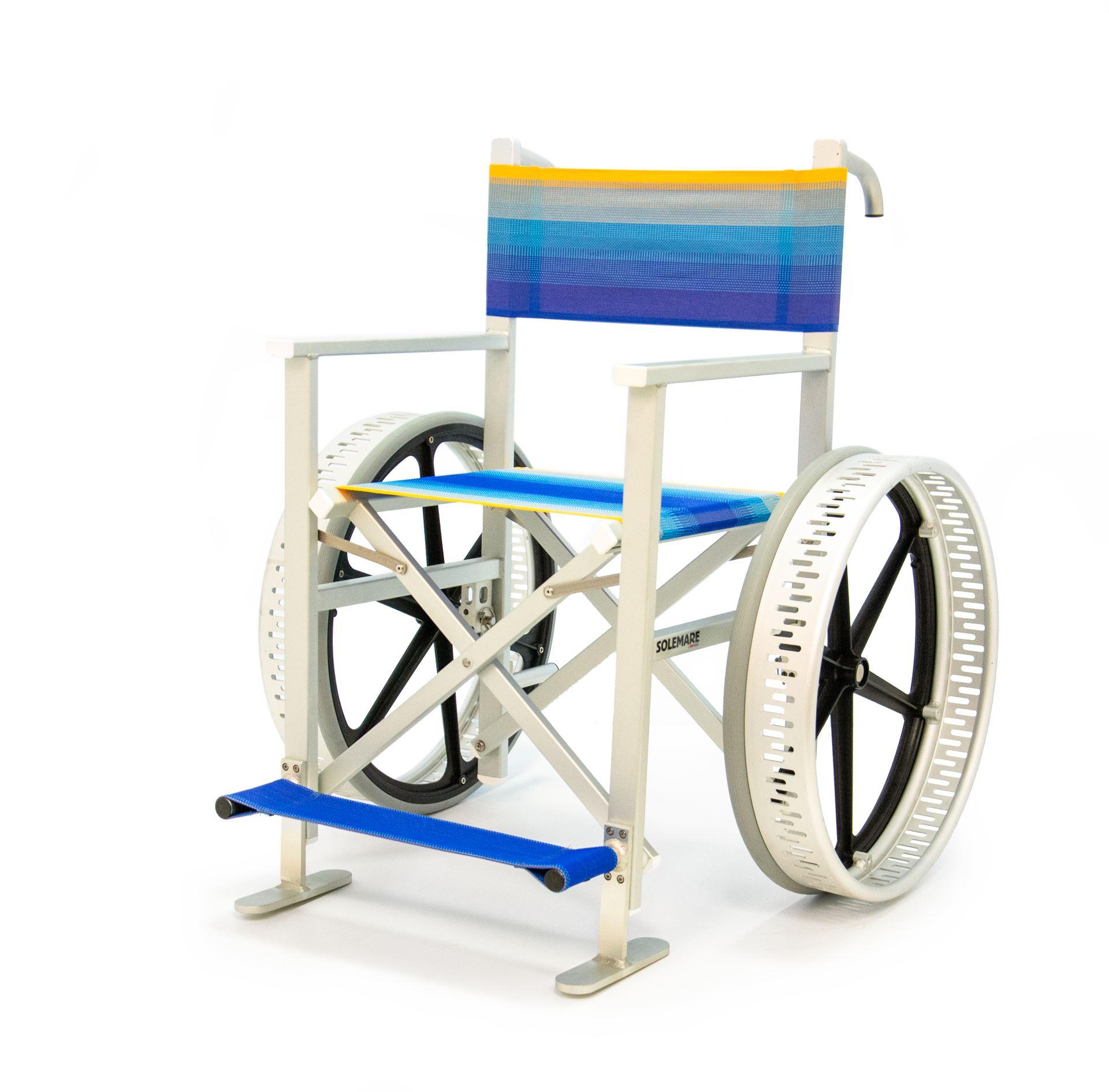 Cadeira de rodas anfibia Solemare