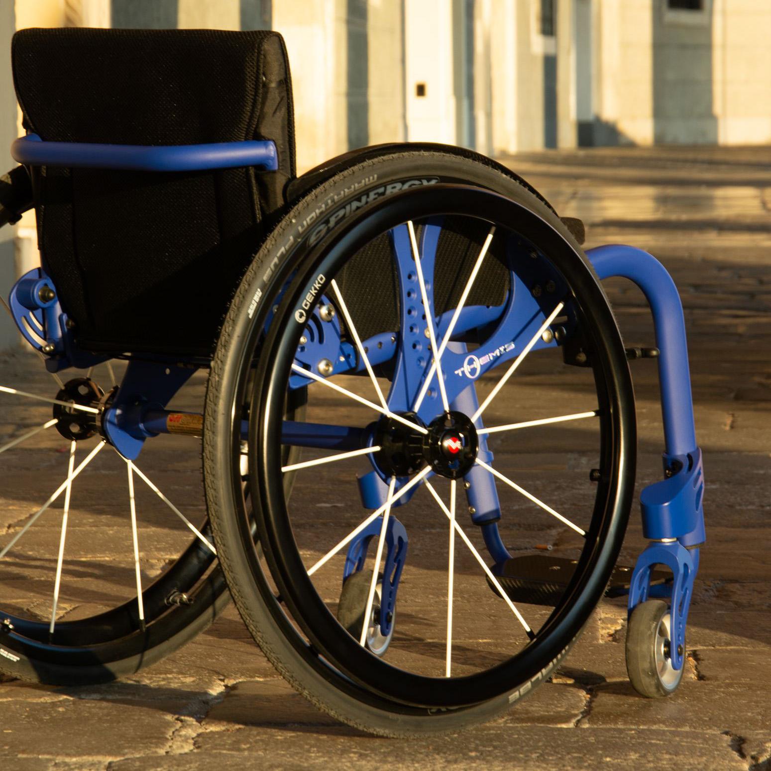 cadeira de rodas manual liga leve themis